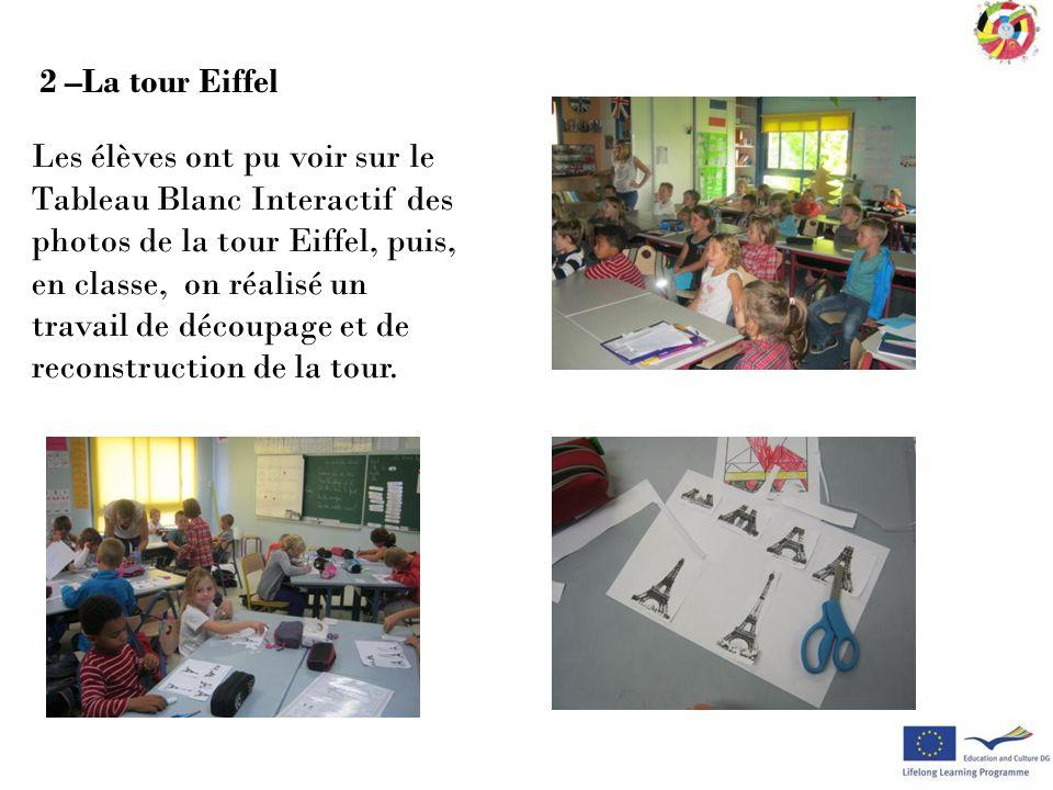 2 –La tour Eiffel