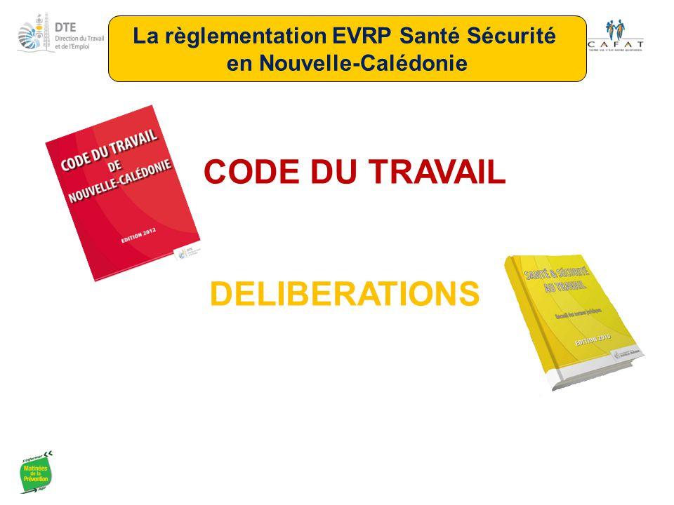 La règlementation EVRP Santé Sécurité en Nouvelle-Calédonie