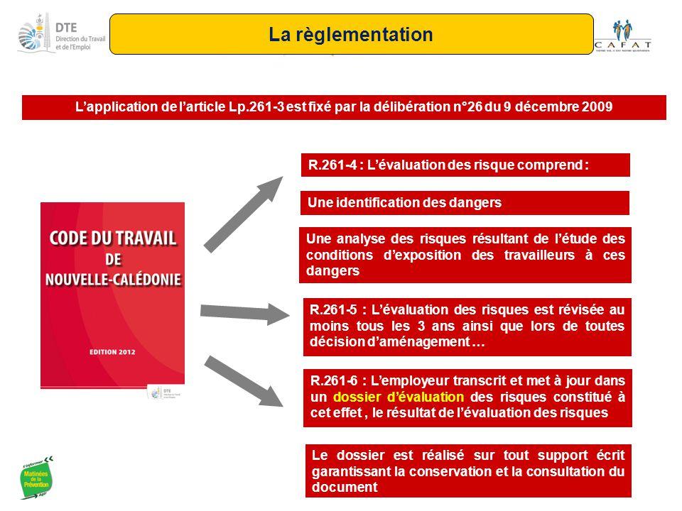 La règlementation L'application de l'article Lp.261-3 est fixé par la délibération n°26 du 9 décembre 2009.