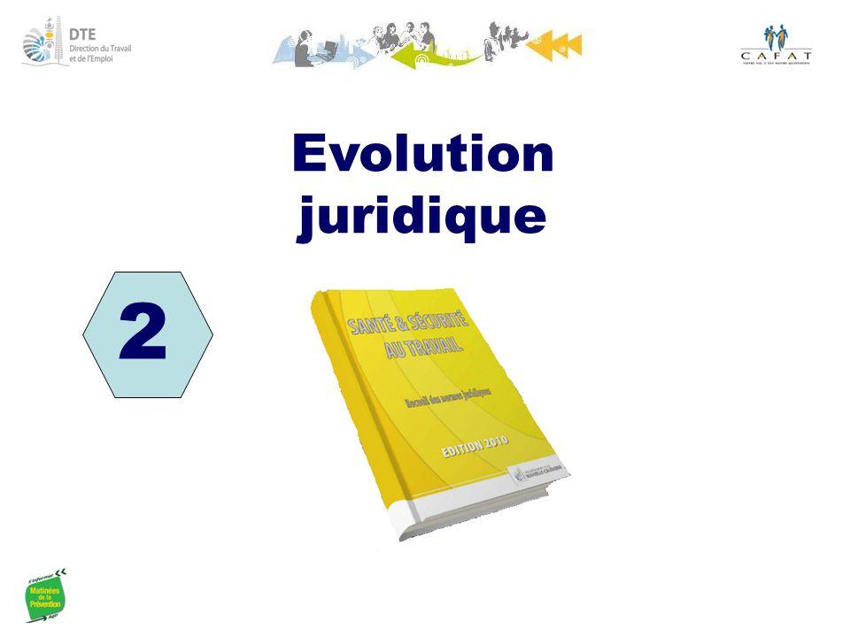 Evolution juridique 2