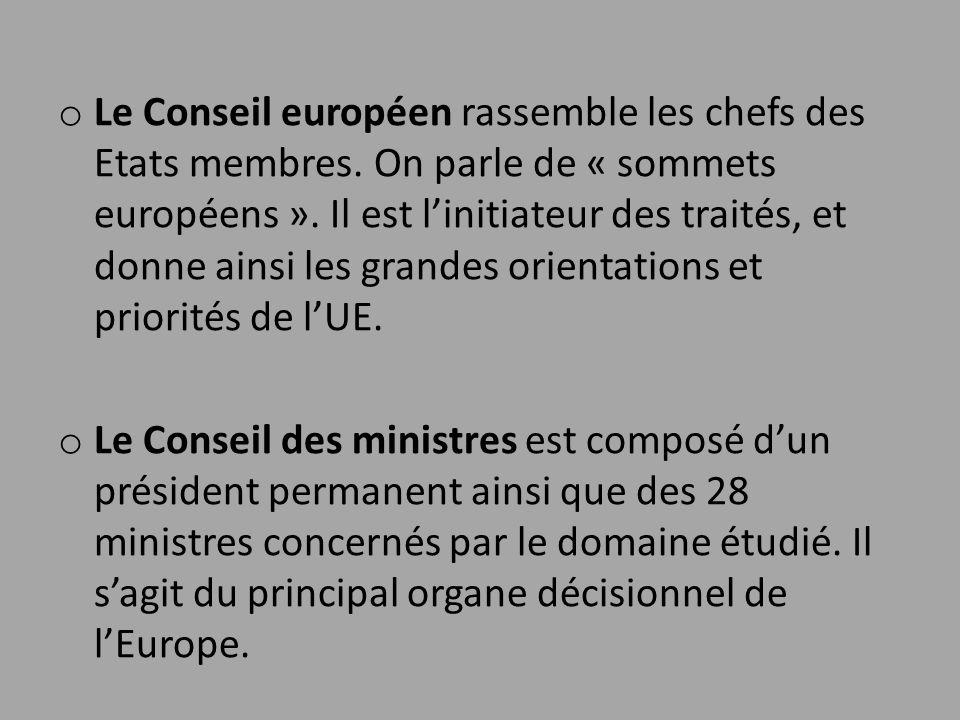 Le Conseil européen rassemble les chefs des Etats membres