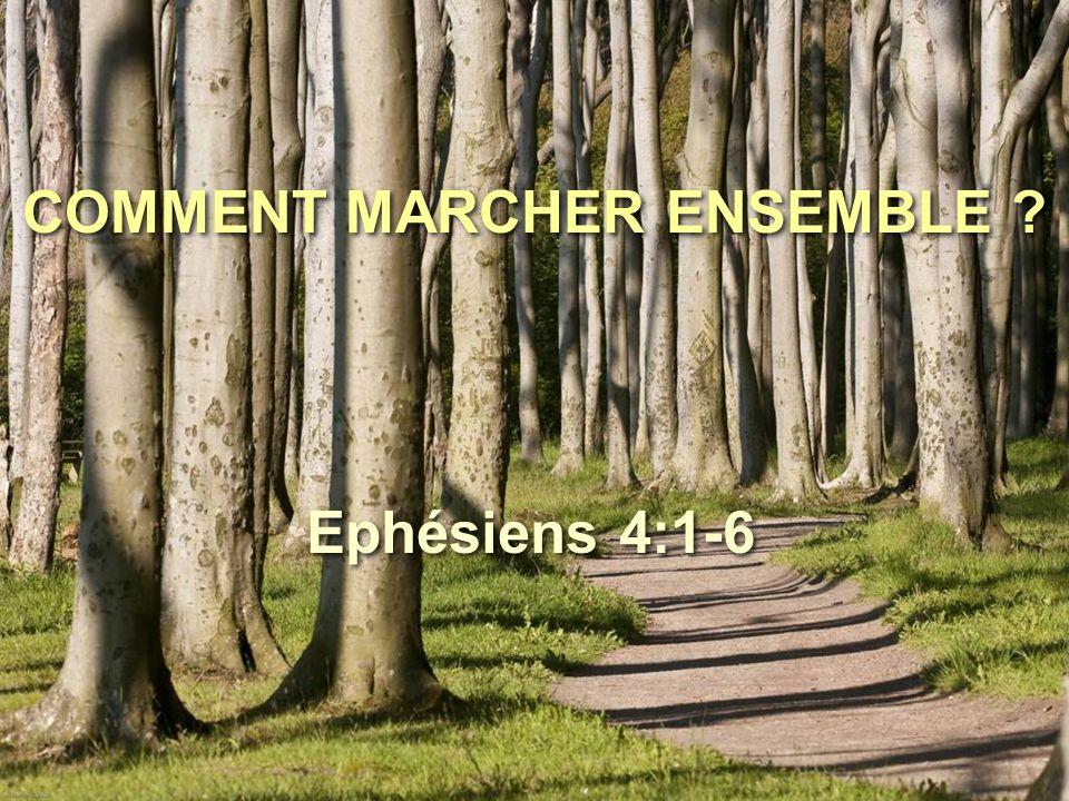 COMMENT MARCHER ENSEMBLE