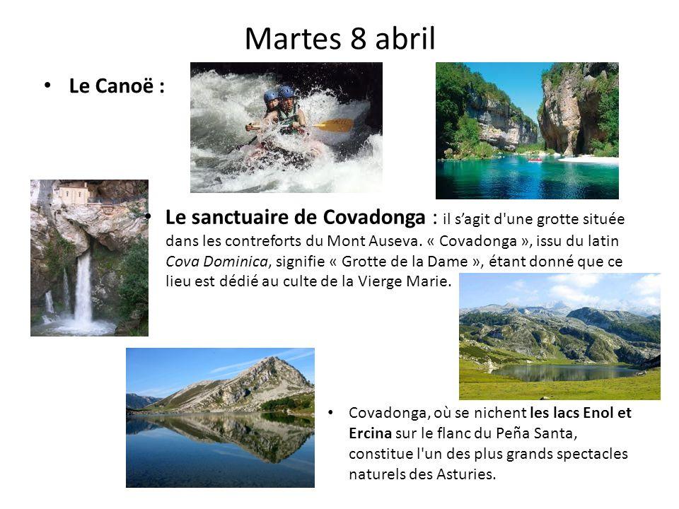 Martes 8 abril Le Canoë :