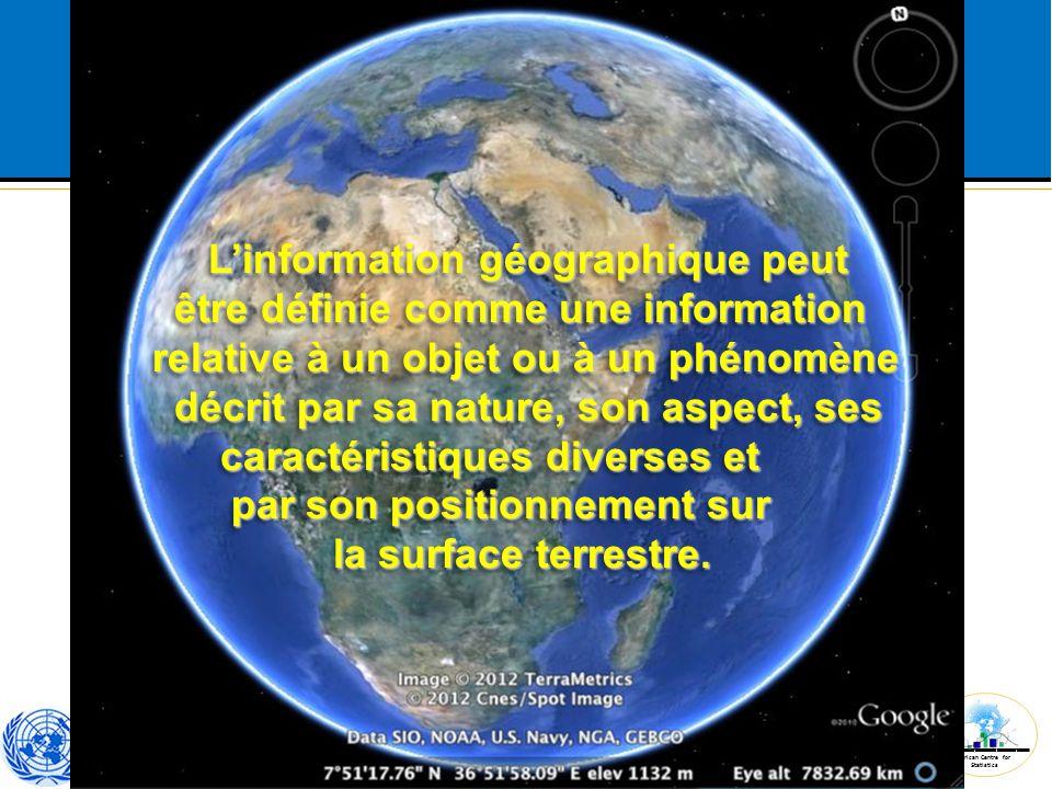 L'information géographique peut
