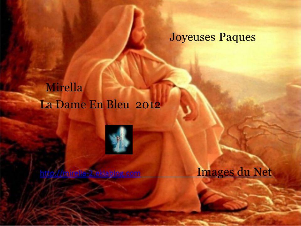 Joyeuses Paques Mirella La Dame En Bleu 2012