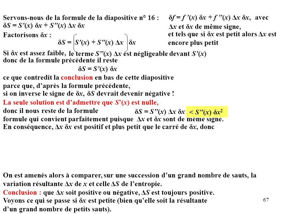 Servons-nous de la formule de la diapositive n° 16 :
