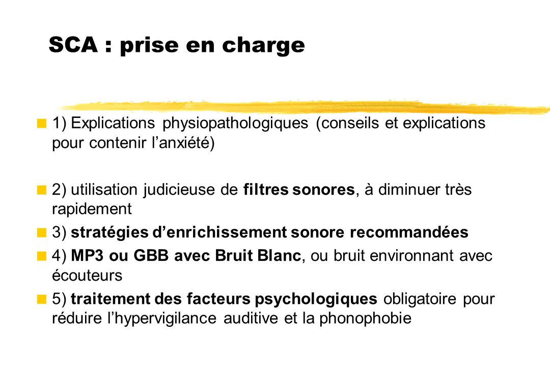 SCA : prise en charge 1) Explications physiopathologiques (conseils et explications pour contenir l'anxiété)