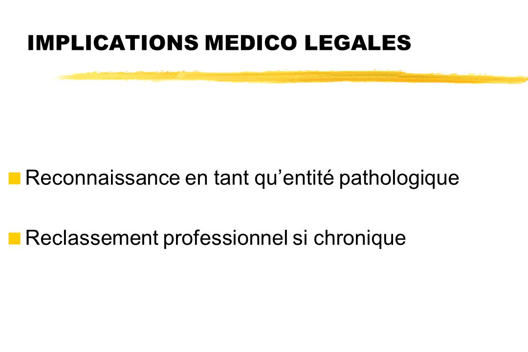 IMPLICATIONS MEDICO LEGALES