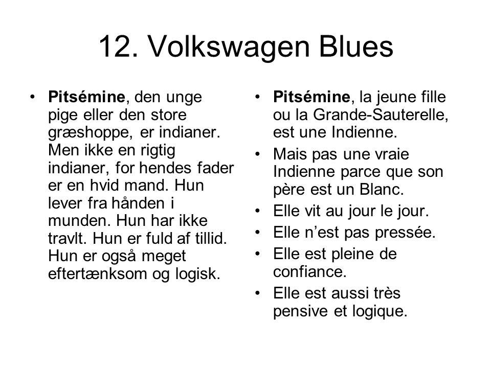 12. Volkswagen Blues