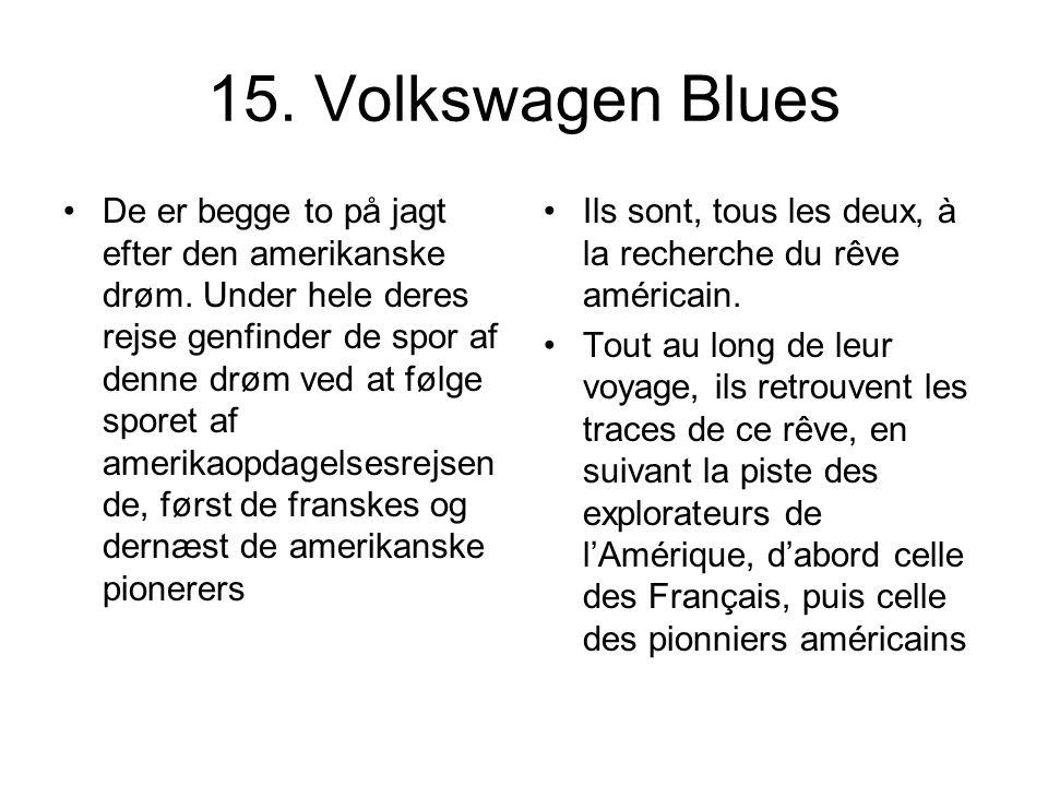 15. Volkswagen Blues