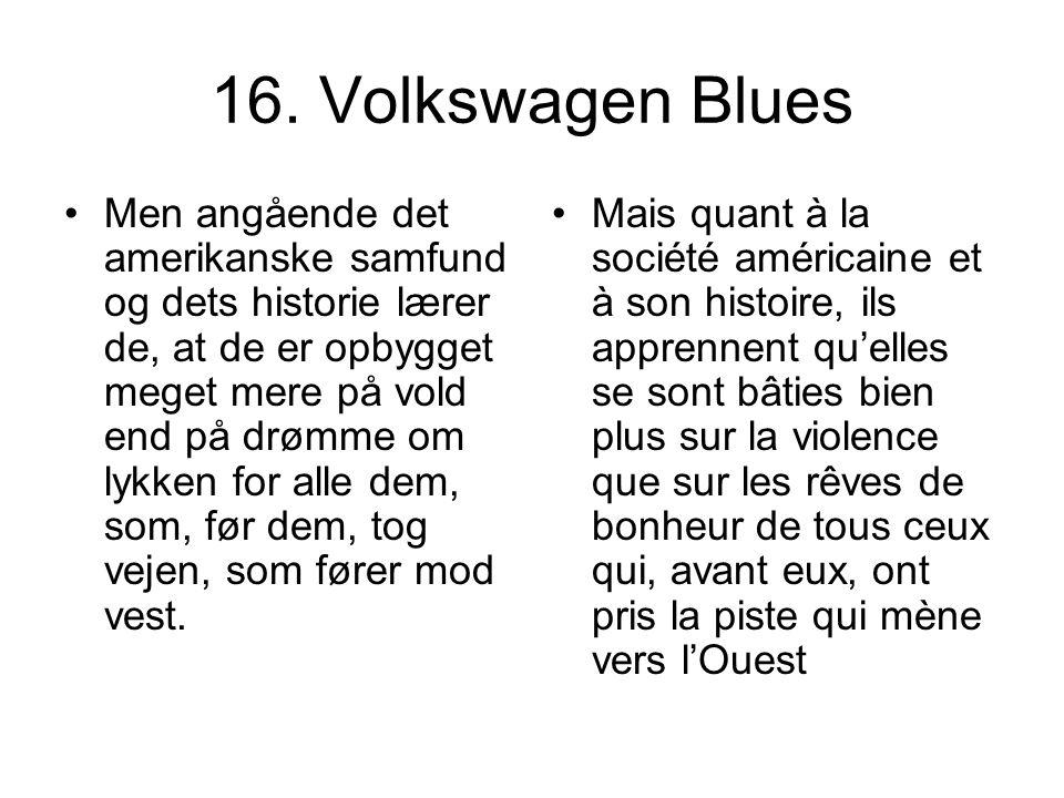 16. Volkswagen Blues