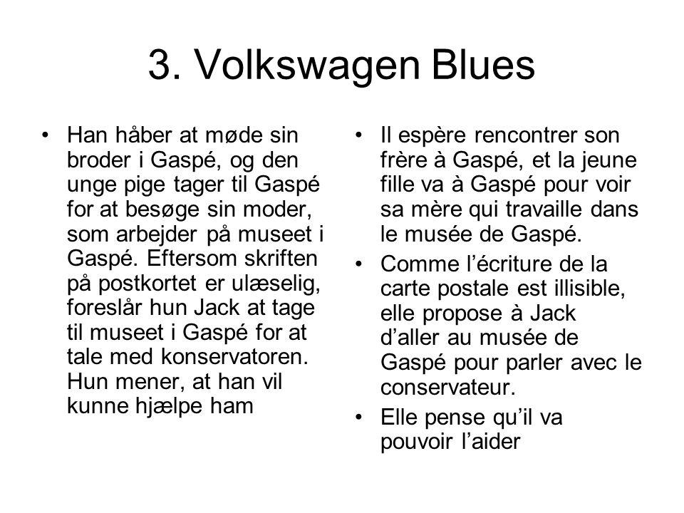 3. Volkswagen Blues