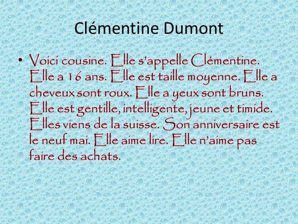 Clémentine Dumont