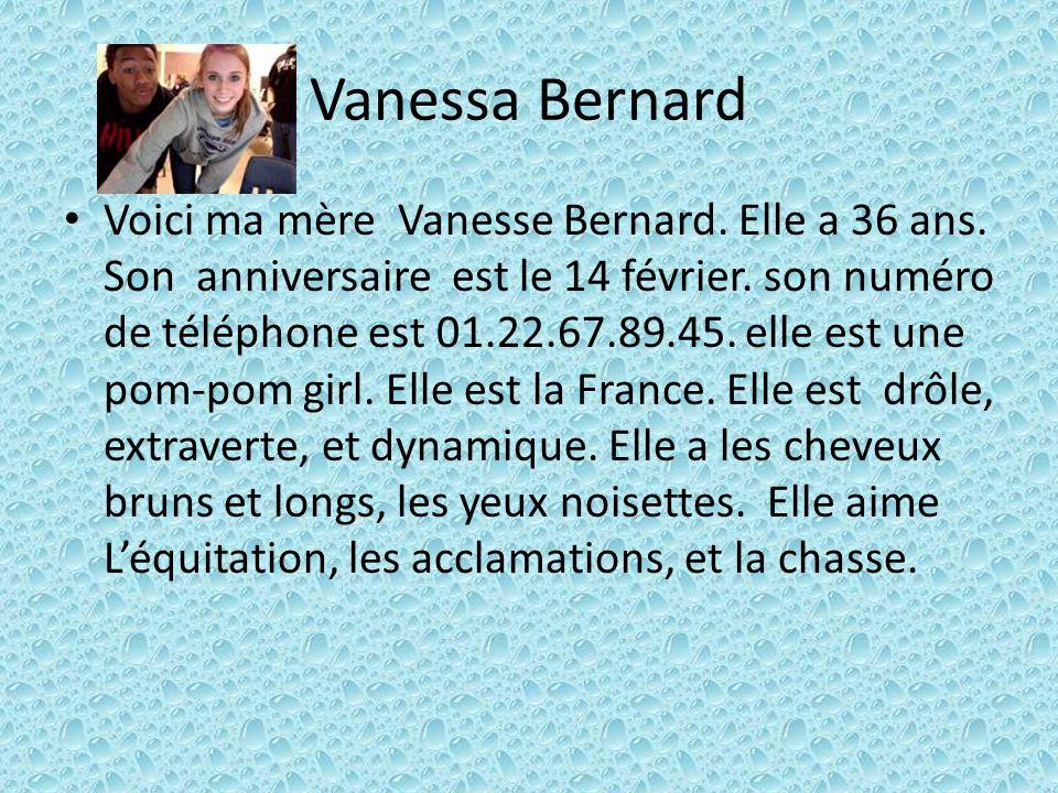 Vanessa Bernard