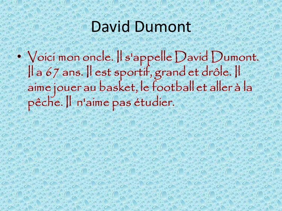 David Dumont