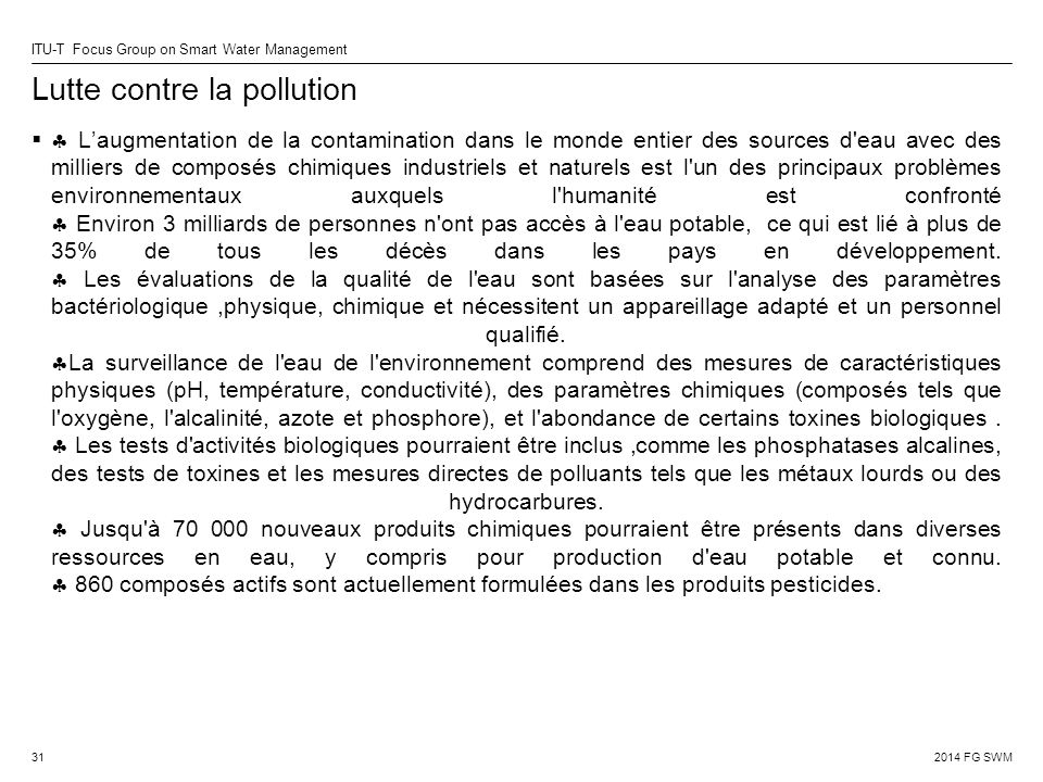 Lutte contre la pollution