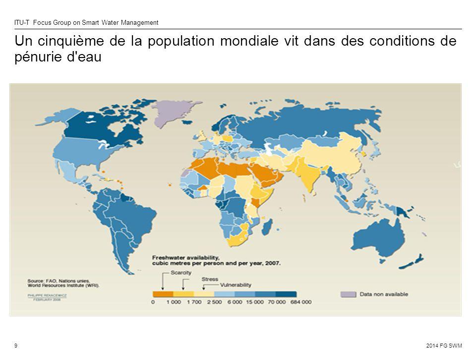 Un cinquième de la population mondiale vit dans des conditions de pénurie d eau