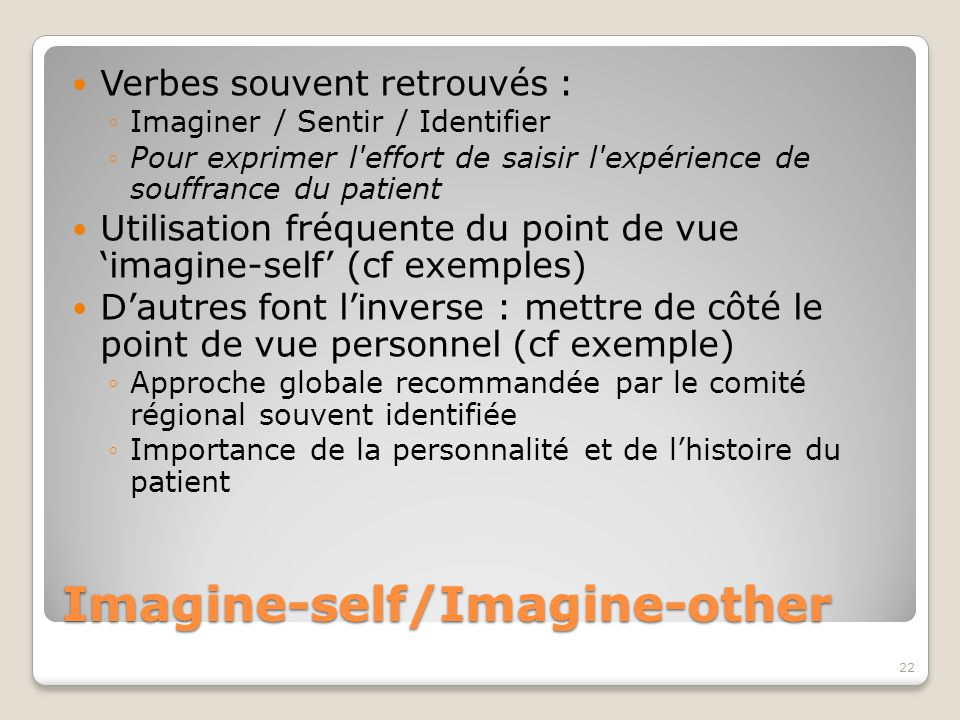 Imagine-self/Imagine-other
