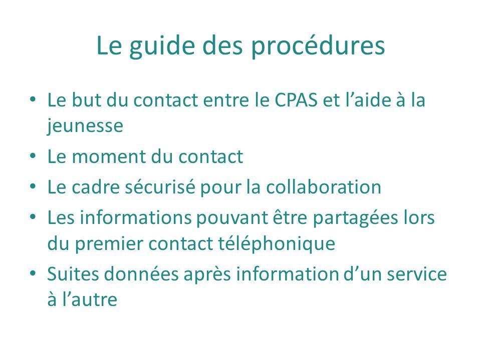 Le guide des procédures