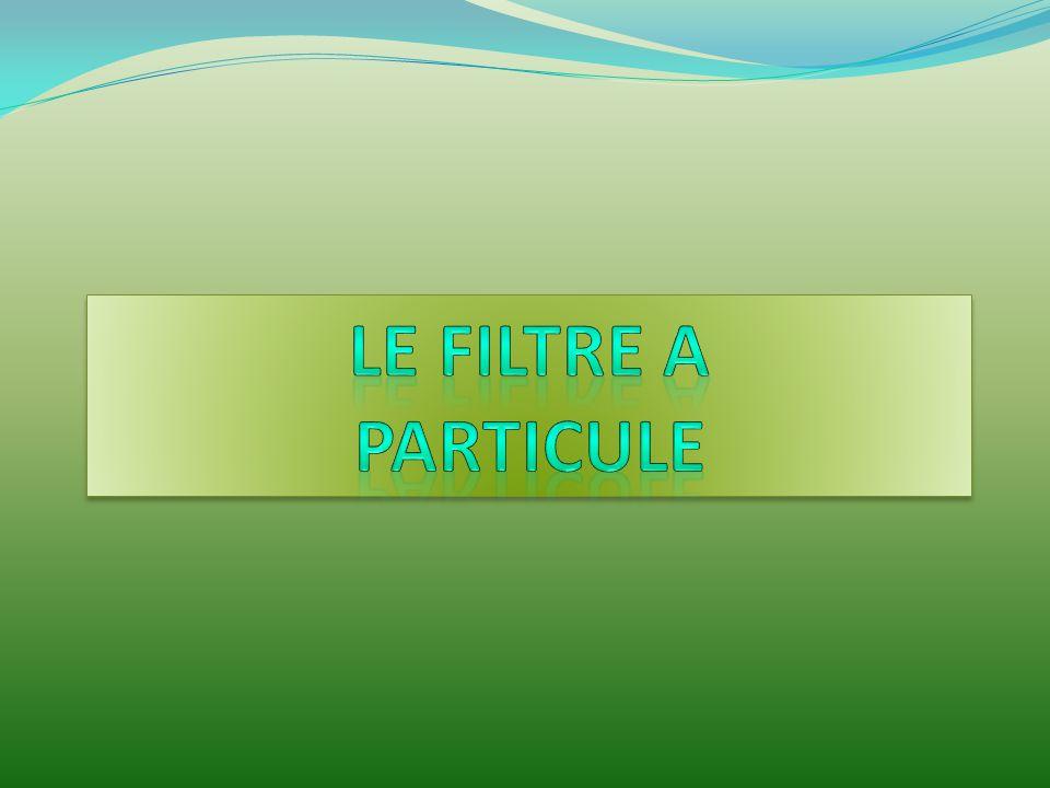 LE FILTRE A PARTICULE