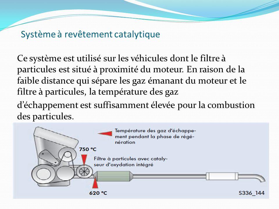 Système à revêtement catalytique