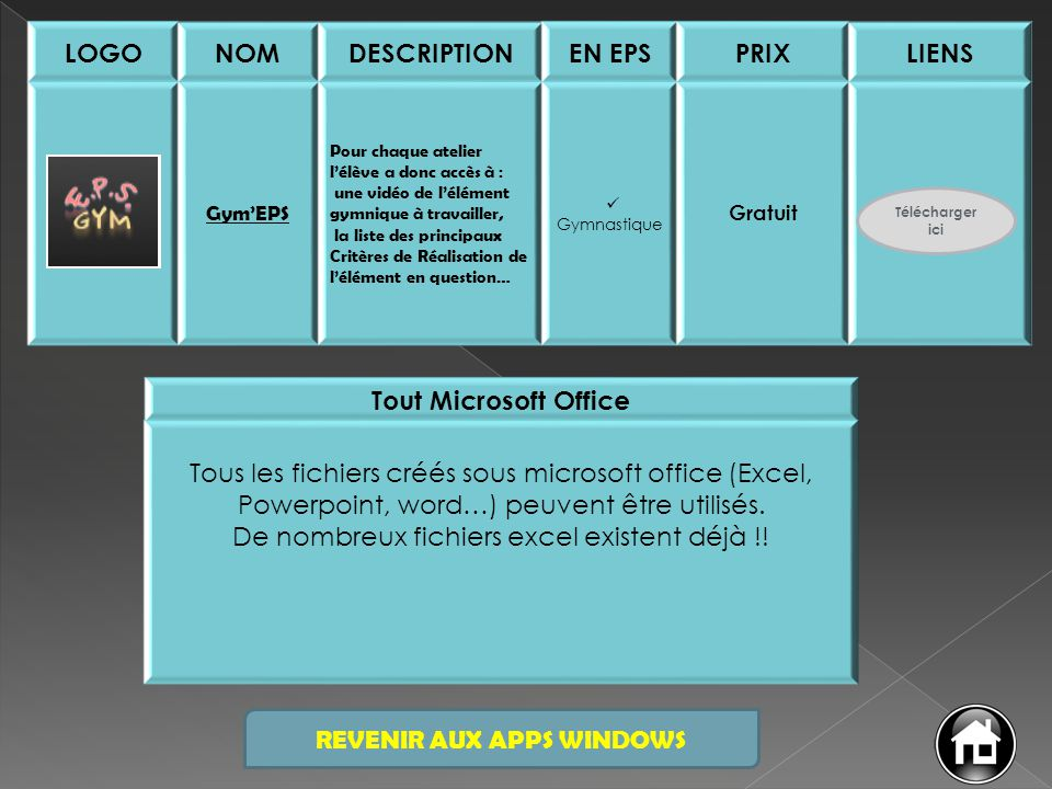 LOGO NOM DESCRIPTION EN EPS PRIX LIENS Tout Microsoft Office