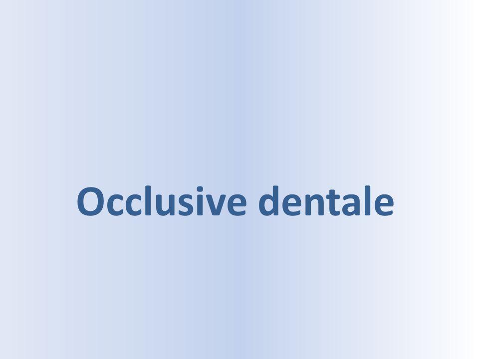 Occlusive dentale