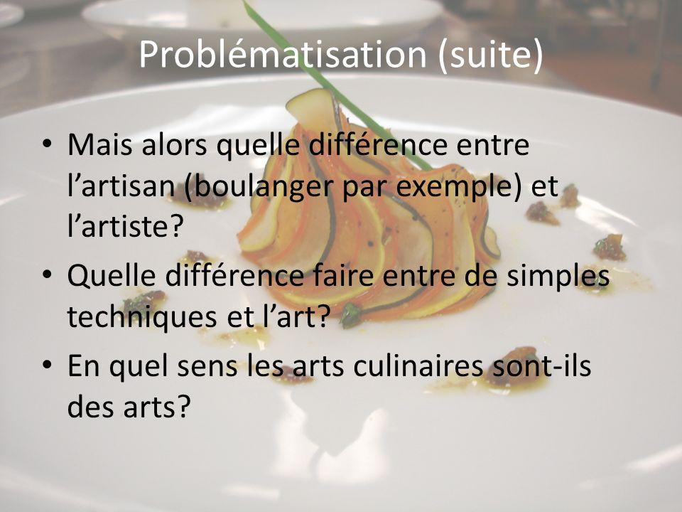 Problématisation (suite)