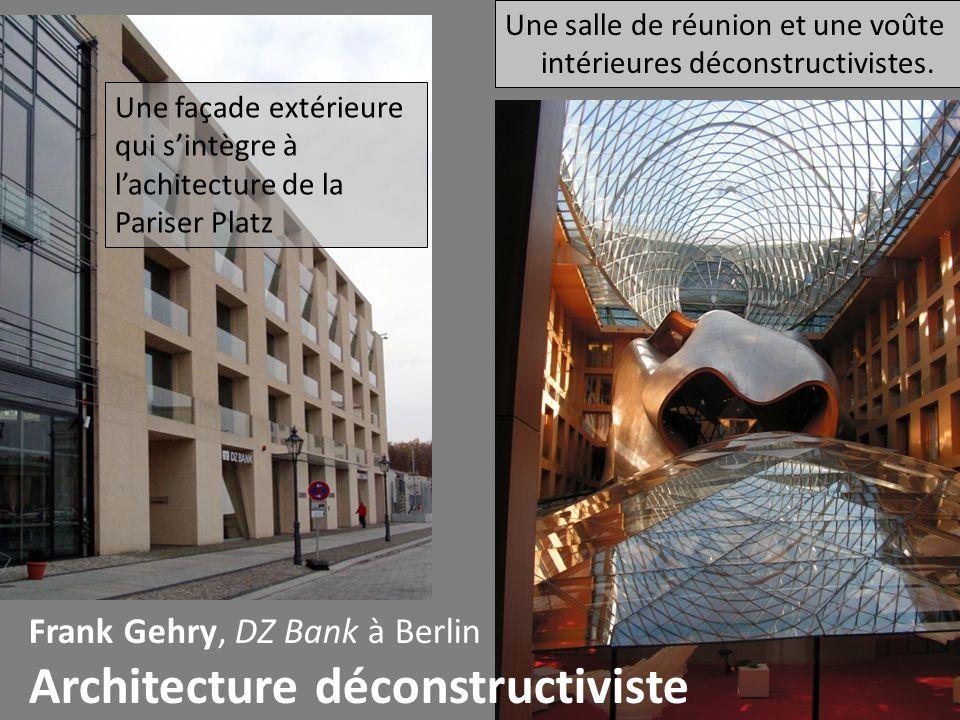 Architecture déconstructiviste