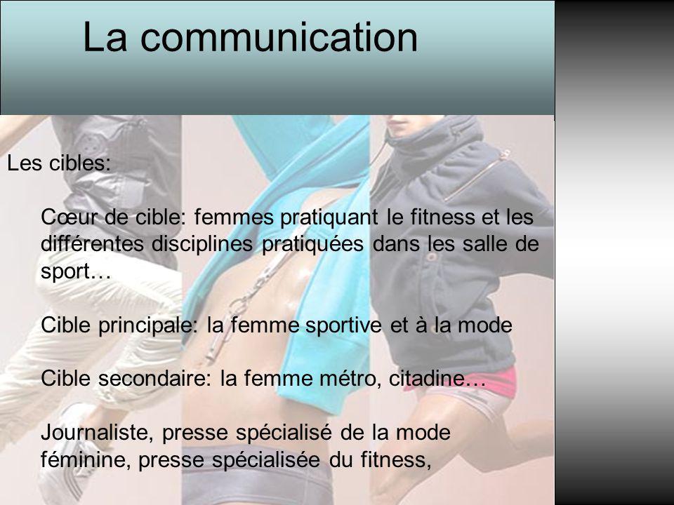 La communication Les cibles: