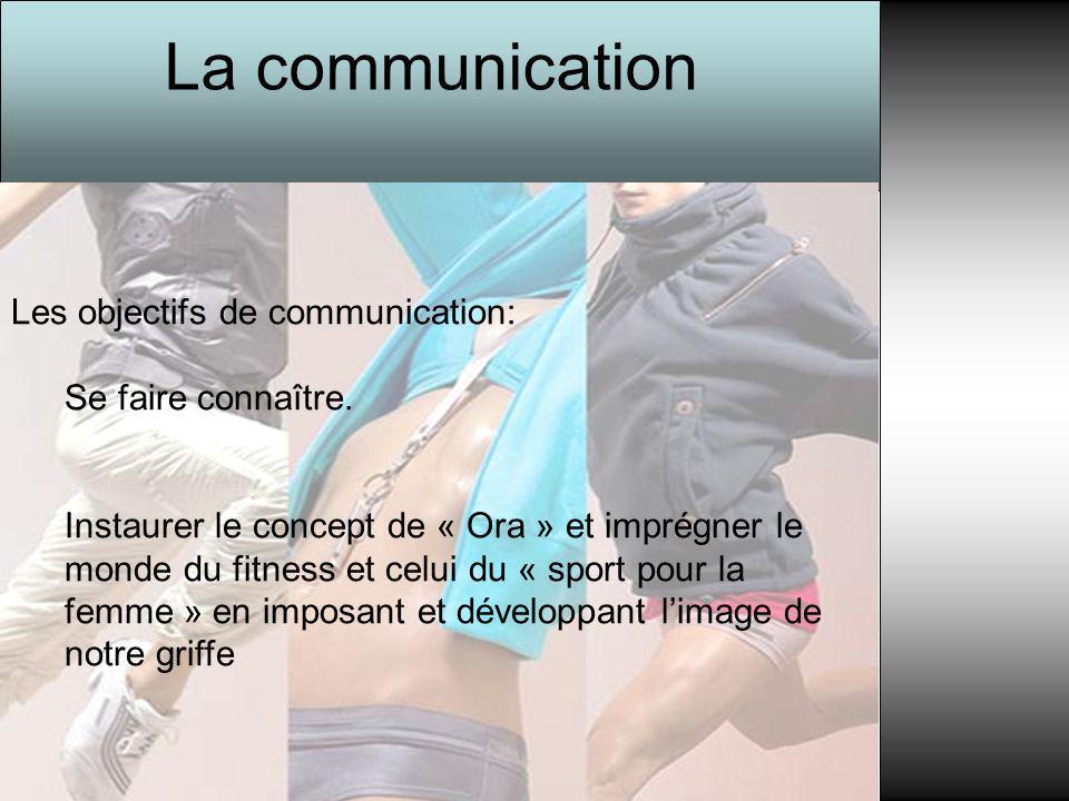 La communication Les objectifs de communication: Se faire connaître.