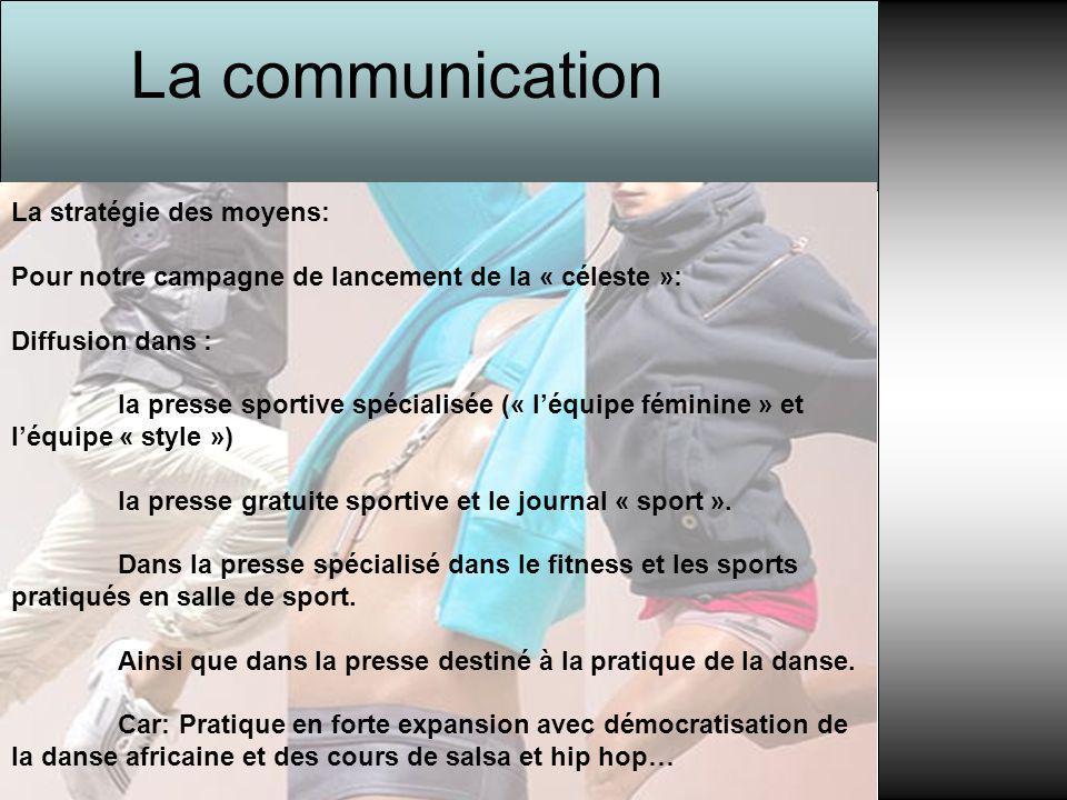 La communication La stratégie des moyens:
