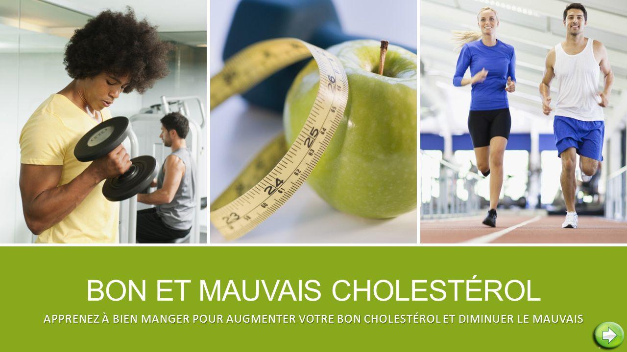 Bon et mauvais cholestérol