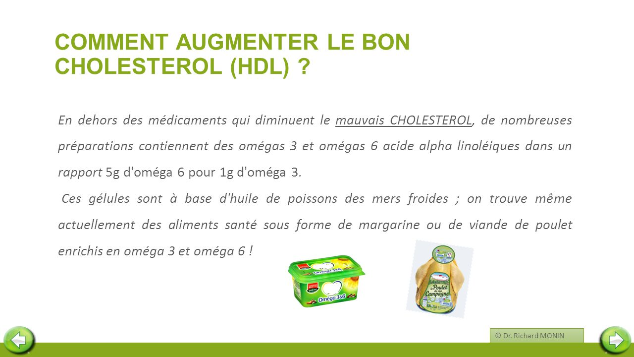 COMMENT AUGMENTER le BON CHOLESTEROL (HDL)