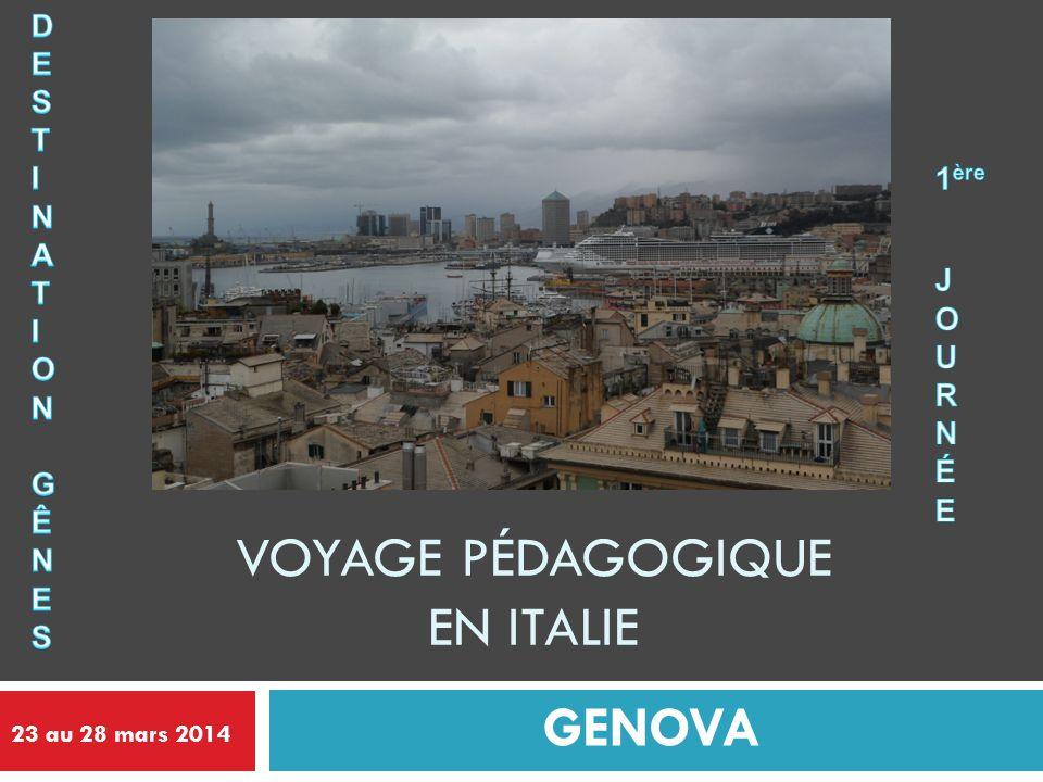 Voyage pédagogique en Italie