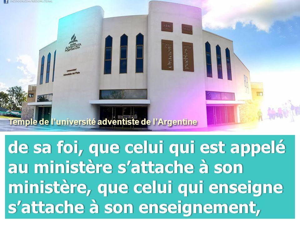 Temple de l'université adventiste de l'Argentine