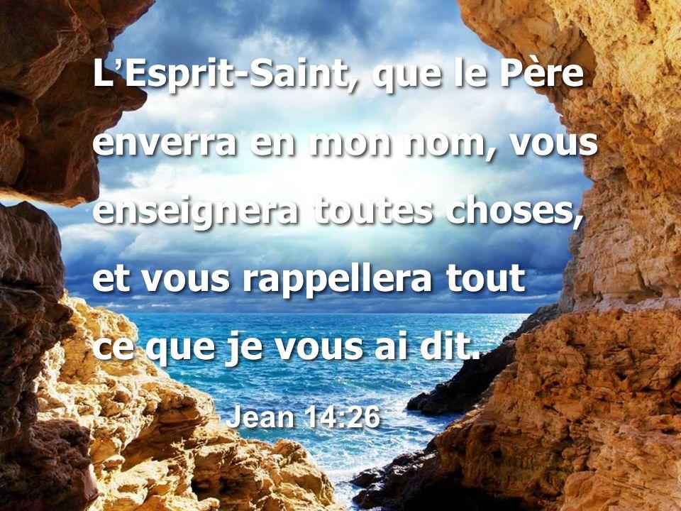 L'Esprit-Saint, que le Père