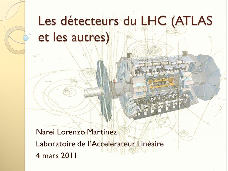 Les détecteurs du LHC (ATLAS et les autres)