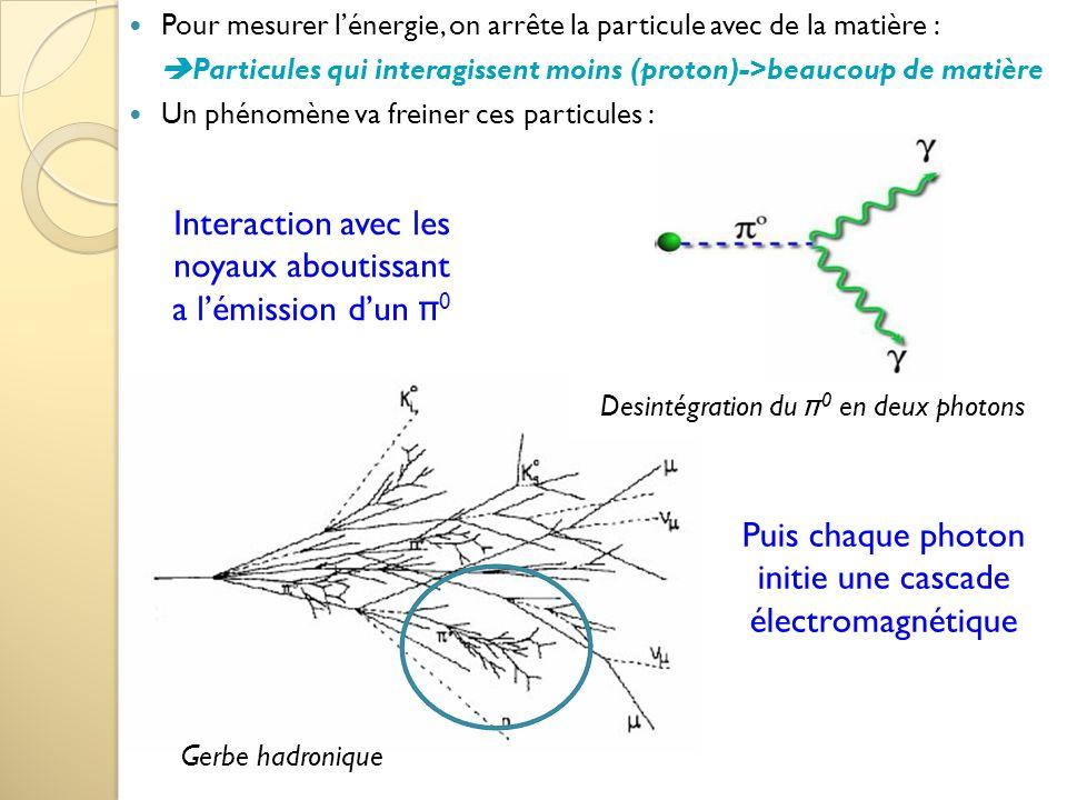 Interaction avec les noyaux aboutissant a l'émission d'un π0