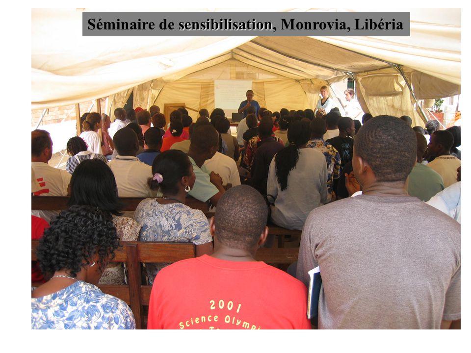 Séminaire de sensibilisation, Monrovia, Libéria