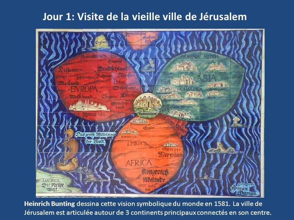 Jour 1: Visite de la vieille ville de Jérusalem