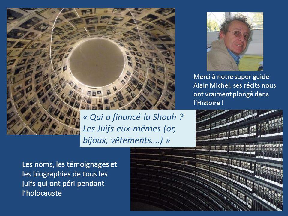 Merci à notre super guide Alain Michel, ses récits nous ont vraiment plongé dans l'Histoire !
