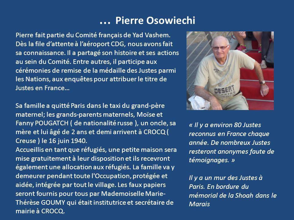 … Pierre Osowiechi