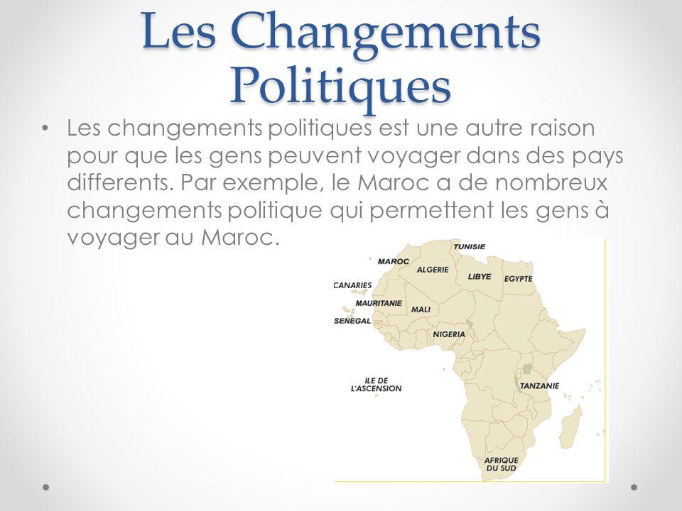 Les Changements Politiques