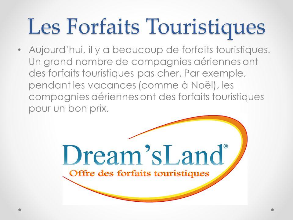 Les Forfaits Touristiques
