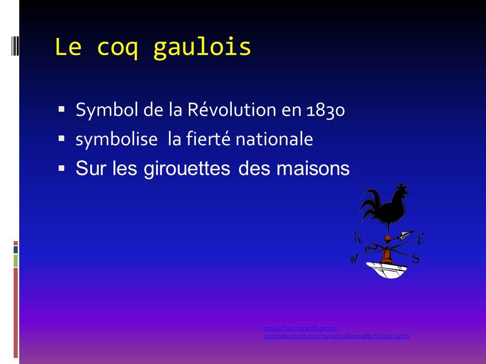 Le coq gaulois Symbol de la Révolution en 1830