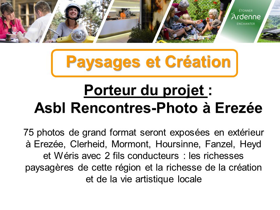 Asbl Rencontres-Photo à Erezée