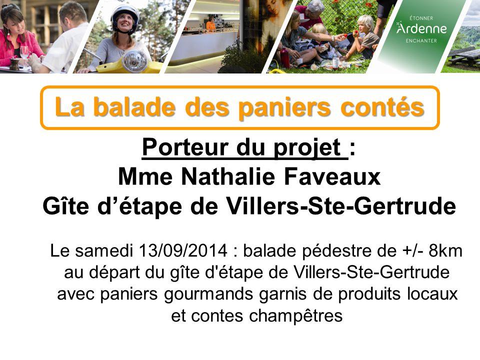 Gîte d'étape de Villers-Ste-Gertrude