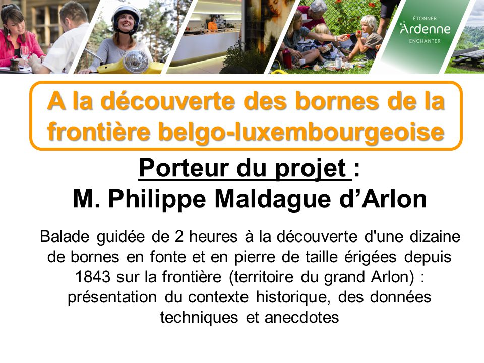 A la découverte des bornes de la frontière belgo-luxembourgeoise