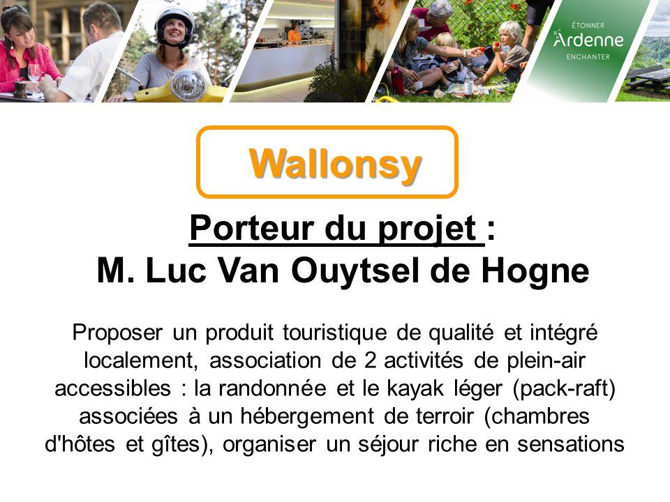 M. Luc Van Ouytsel de Hogne